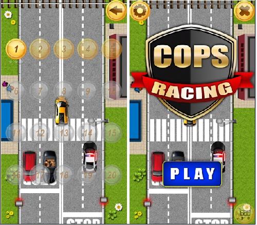 بازی جالب و  سرگرم کننده C.ops-Ra1cing
