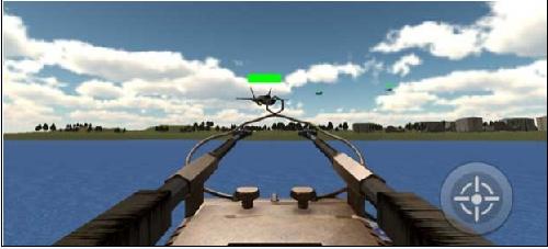بازی جذاب و زیبای Battleship-Destroyer-3D